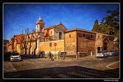 Roma_Basilica di San Clemente_Via di S. Giovanni in Laterano (ferdahejl) Tags: roma viadisgiovanniinlaterano basilicadisanclemente dslr canondslr canoneos800d