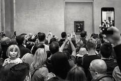 Mona Lisa (Fabdub) Tags: paris lelouvre monalisa lajoconde blackwhite noiretblanc leicaq leica