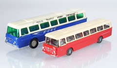 Blue Box and Wiking Senators (adrianz toyz) Tags: plastic toy model bus coach hong kong copy wiking 72s trambus senator boac bluebox adrianztoyz