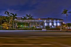 General Tire Building, 5600 Biscayne Boulevard, Miami, Florida, USA / Built: 1954 / Architect: Robert Law Weed  / Floors: 2 / Height: 22.73 ft / Architectural Style: Miami Modern (MiMo) (Photographer South Florida) Tags: generaltirebuilding 5600biscayneboulevard miami florida usa built1954 robertlawweed floors2 height2273ft miamibeach miamigardens northmiamibeach northmiami miamishores cityscape city urban downtown density skyline skyscraper building highrise architecture centralbusinessdistrict miamidadecounty southflorida biscaynebay cosmopolitan metropolis metropolitan metro commercialproperty sunshinestate realestate tallbuilding midtownmiami commercialdistrict commercialoffice wynwoodedgewater residentialcondominium dodgeisland brickellkey southbeach portmiami sobe brickellfinancialdistrict keybiscayne artdeco museumpark brickell historicalsite miamiriver brickellavenuebridge midtown sunnyislesbeach moonovermiami mimo miamimodern weedrusselljohnsonassociates andiamopizza