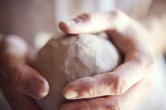 Raw clay in the hands (Artur Pilipchuck) Tags: woman pottery potter hand clay ball body ceramics city artwork clean closeup couple craft craftsman create creativity culture cup design earthen earthenware earthy entertainment female finger fingers form gray artist handwork hobbies human jar knead labour light male man manual manufacturing market master material mold molding mud natural occupation old