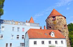 Passau (Deutschland) - Peichterturm - 4 (Björn_Roose) Tags: bjornroose björnroose passau germany deutschland duitsland allemagne bayern bavaria architecture architectuur tower toren