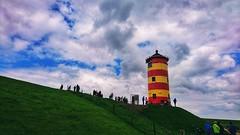 Lighthouse (Jos Mecklenfeld) Tags: lighthouse leuchtturm vuurtoren altenleuchtturmpilsum pilsum ostfriesland niedersachsen germany deutschland duitsland clouds wolken sonyxperiaz5 xperia