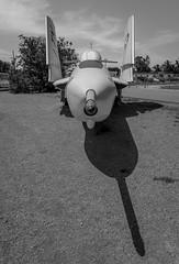 Pointy and Monochrome (juliolunap) Tags: plane planes engineering engineeringporn sandiego california museum airmuseum usa america black blackandwhite blackwhite blackandwhiteporn blackwhitephoto blackwhitephotography white bnw bnwphoto bnwphotography monochrome