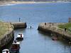 Boat leaving Seaton Sluice (DavidWF2009) Tags: boat seatonsluice harbour northumberland sea breakwater