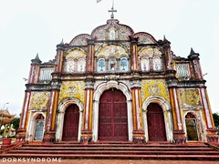 Church with grotesque style decoration. (hoangbinhboong) Tags: christianity church architecture vietnam travel wanderer photography traveler