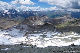 View from Piz Surgonda 3.196m / 10.480 ft