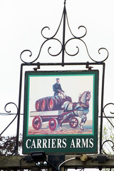 Carriers Arms, East Bergholt. (piktaker) Tags: suffolk pub inn bar tavern pubsign innsign publichouse carriersarms eastbergholt
