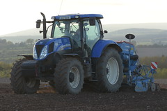New Holland T7.200 Tractor with a Lemken Solitair 8 Seed Drill & Power Harrow (Shane Casey CK25) Tags: new holland t7200 tractor lemken solitair 8 seed drill power harrow cnh nh blue watergrasshill sow sowing set setting drilling tillage till tilling plant planting crop crops cereal cereals county cork ireland irish farm farmer farming agri agriculture contractor field ground soil dirt earth dust work working horse horsepower hp pull pulling machine machinery grow growing nikon d7200