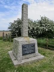 Pilgrim Fathers Memorial. (Jane Desforges) Tags: scotia creek fishtoft boston lincolnshire memorial pilgrim fathers 1607 park country havenside