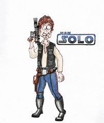 Han Solo (anregenarts) Tags: han solo hansolo starwars millenniumfalcon harrisonford alden ehrenreich princessleia lukeskywalker obiwankenobi chewbacca r2d2 c3po lando stormtrooper kyloren rey rebel anewhope empirestrikesback returnofthejedi theforceawakens soloastarwarsstory theforce starwarsday jedi force cartoon caricature illustration drawing painting holidays christopherlester christopherlester23 clester23 anregenarts wwwchristopherlester23com