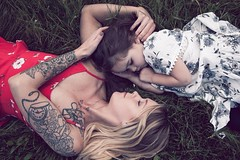 You keep me safe, I'll keep you wild. (Crystal Pierce Photography) Tags: art inkedmoms mom ink tattoos tattooedmoms canon5dmarkii family people lifestylephotography crystalpiercephotography oregon motherhood love portrait child mother