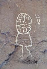 Petroglyphs / San Juan River Site (Ron Wolf) Tags: anthropology archaeology bearsearsnationalmonument nationalpark nativeamerican anthromorph anthropomorph petroglyph rockart utah blm