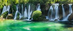 Kravica Waterfalls (J McSporran) Tags: herzegovina kravicawaterfalls bosniaherzegovina waterfall landscape panorama canon6d ef70200mmf28lisiiusm
