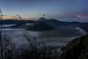 Mount Semeru and Bromo sunsrise (kuuan) Tags: indonesia voigtländerheliarf4515mm manualfocus mf voigtländer15mm aspherical f4515mm superwideheliar apsc sonynex5n bromonationalpark bromotenggersemerunationalpark caldera sunrise bromo tengger semeru java