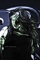 Poster art (LensMarcPhotography) Tags: rock rockband thekillingculture female singer guitarist guitar hair vivid drummer