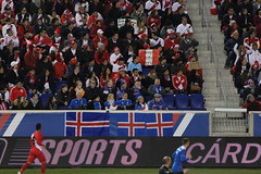 Spot the Iceland supporters in the crowd... (Hazboy) Tags: hazboy hazboy1 peru iceland soccer friendly futbol football red bull arena nj new jersey march 2017 game match