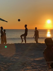 """A typical day in the life of a """"carioca"""". (Barbarella_br) Tags: sunsets arraialdocabo riodejaneiro beach football brazil"""