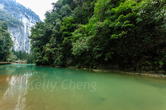 Chongqing-180129-099 (Kelly Cheng) Tags: asia china chongqing northeastasia southchinakarstwulongkarstunescoworldheritagesite threenaturalbridges unescoworldheritagesite wulong wulongkarstnationalgeologypark canyon color colorful colour colourful day daylight karst landscape river rock tourism travel traveldestinations water 天生三桥 武隆喀斯特