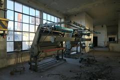 beautiful urbex morning (jkatanowski) Tags: morning urbex urban exploration europe poland indoor industry destroyed decay broken window sunlight sony a7m2 1740mm machinery machine