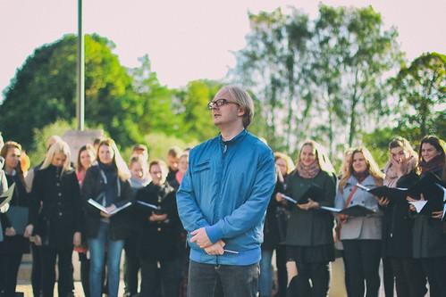 2016_Hommikutervitus kontsert Tartu kaarsillal