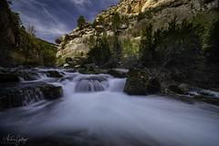 Pitarque River (Andrés Gallego) Tags: aliaga allepuz central d750 teruel pitarque laowa 12 12mm nisi nisifilters nd river rio nacimiento agua water rapids waterfall silk seda