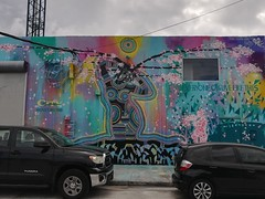 Even the walls around the official Wynwood Walls had art