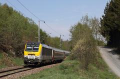 CFL 3016 @ Gouvy grens (Peter Van Gestel) Tags: cfl gouvy lijn ligne 42 nmbs sncb reeks serie 3000 grens frontière