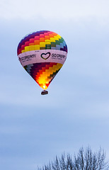 IMG_8278a (hallbæck) Tags: balloon balloonflight vehicle aircraft godream brightcolours kattehale denmark northsealand airballoon oyooz