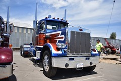 33rd Annual SoCal ATHS Antique Truck Show (USautos98) Tags: 1979 peterbilt 359 truck 18wheeler bigrig tractortrailer