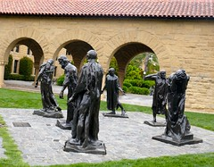 Six Burghers of Calais sculptures by Rodin (ali eminov) Tags: paloalto california universities stanforduniversity sculptors augusterodin sculptures sixburghersofcalais