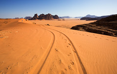 Wadi Rum (yan08865) Tags: wadi rum jordan sky rocks sand mountains travel desert print landscapes pavlis petra beduins nature solo earth photographers deserts