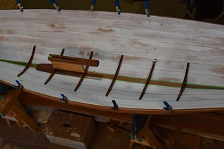 Acorn Skiff with centerboard trunk