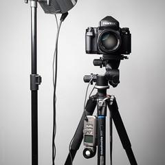 120 (Boriann) Tags: pentax pentax67 pentax67ii 67ii sekonic sekonicl358 elinchrom manfrotto manfrotto055cxv3 camerapron camera classiccamera analogphotography 120film mediumformat flash flashphotography