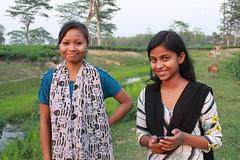 Sonari girls. Assam, India (n1ck fr0st) Tags: sonari girls assam india tea plantation