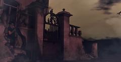 Wayfar contest entry (Shantell90) Tags: secondlife cgi sl ghosts ruins sky landscape night dark