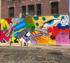 CRASH ONE (SPRAYHUNTER) Tags: new york city graffiti graff street art artists artwork spraypaint spray manhattan artistry artist