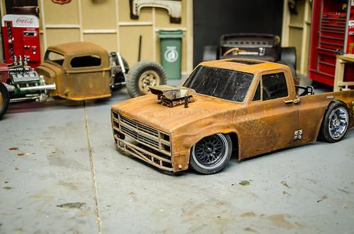 Tamiya Ta02 Drift Truck Squarebody Build Part1 3 A Photo On Flickriver
