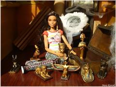 Keepsakes from Egypt (Mary (Mária)) Tags: barbie mattel doll toys egypt keepsake knickknack az challenge barbieholiday angrybirds attic dollphotography dollphotographer interior handmade diorama miniatures decoration memories dollcollector fashion madetomove marykorcek