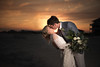 Just Married (Mark Wingfield) Tags: morganswedding sunset nikon d750 sky people wedding bride groom vows beach beautiful orange sand outdoors outside ocean gulf shore shores flowers