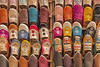 Babouches dans un souk de Fès (Voyages Lambert) Tags: colorful moroccan color fez traditional handmade medina background oriental african arabic arab stall multicoloured colourful footwear shop sophisticated stylish style morocco mar