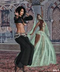Opensim Harem (bettyfl) Tags: harem dance anna betty bettyfl arabs arab arabic silk dancers tease teaser seduce seducer femme woman os opensim hypergrid fashion fashionista fashionlover arabian habibi belly bellydance lumiya model modeling pose girls