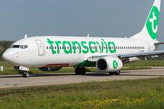 Transavia / B738 / F-GZHP / LFRS (_Wouter Cooremans) Tags: green nte nantes spotting spotter avgeek aviation airplanespotting lfrs transavia b738 fgzhp