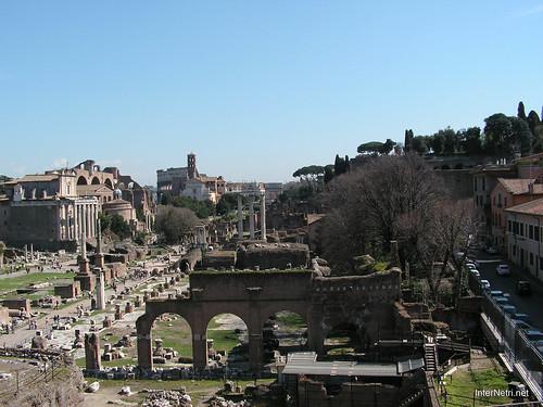 Римський форум, Рим, Італія InterNetri Italy 392