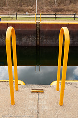 2018-04-28 15-24-12 (_MG_3111) (mikeconley) Tags: johnstown newyork eriecanal lock canal ladder water reflection mindenville usa