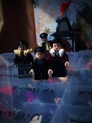 The Waynes (Lord Allo) Tags: lego dc batman thomas martha wayne bruce joe chill crime alley