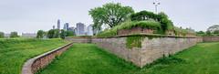 bastion (Benzadrine) Tags: fortjay governorsisland ny nyc fortress bastion moat newyorkcity gothamist walls brick