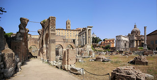 Basilica Julia named after Julius Caesar