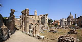 Basilica Julia named after Julius Caesar