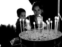 Aphesis_IMG_9486n (AchillWandering) Tags: achaea kalavryta greece monastery mega spileo aphesis candles church people woman child round village pretty